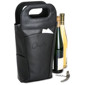 Belgio Insulated Double Wine Tote Image 2 of 2