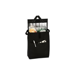Olympus Foldable Lunch Cooler - Black - Closeout Image 1 of 2