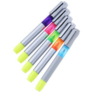 Triple Threat Pen/Highlighter - 24 hr
