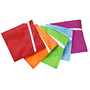 Angle Zip Pouch - 5-3/4