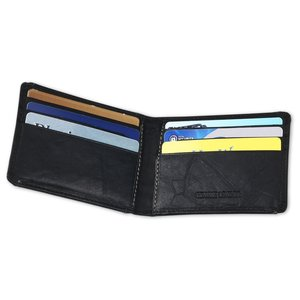 Leather Wallet w/Money Clip