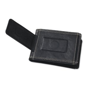 Leather Wallet w/Money Clip Image 3 of 4