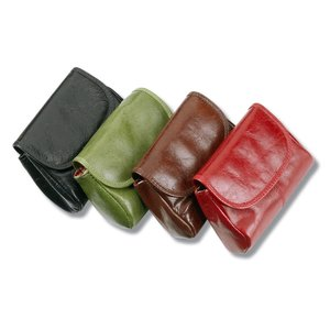 Leather Mini Cargo Wallet Image 2 of 3