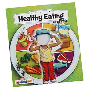 All About Me Book - Healthy Eating Image 2 of 2