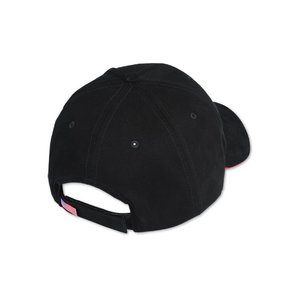 Bayside USA Made Structured Brush Twill Sandwich Cap Image 2 of 2