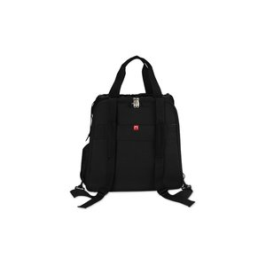 elleven Checkpoint-Friendly Backpack Tote - Embroidered Image 4 of 5