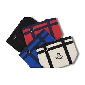 Rugby Stripe Mini Boat Tote Image 1 of 2