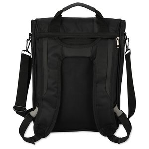 Vertical Laptop Backpack Brief Image 1 of 3