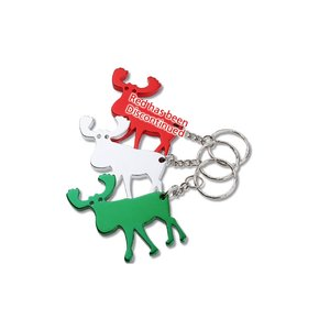 Moose Key Tag Bottle Opener Image 2 of 2