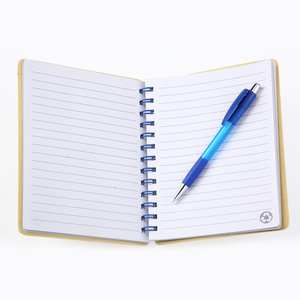 Bright Line Recycled Notebook w/Pen - Closeout Image 1 of 2