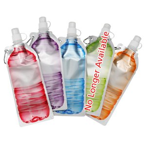 Hydrate Foldable Sport Bottle - 18 oz. Image 2 of 3