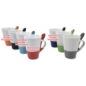 Double Dunk Spooner Mug - 12 oz. - Closeout Image 1 of 1