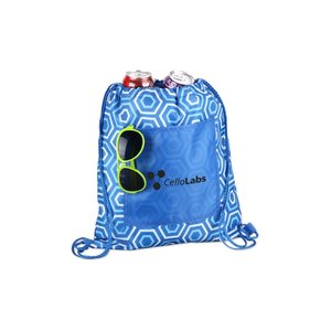 Printed Insulated Sportpack - Hexagon Image 1 of 2
