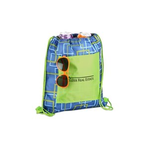 Printed Insulated Sportpack - Squares Image 2 of 2