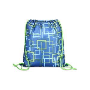 Printed Insulated Sportpack - Squares Image 1 of 2