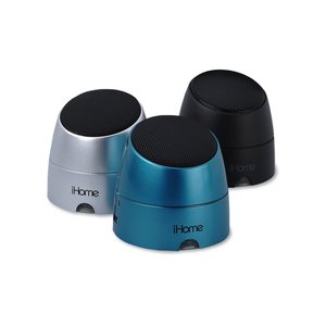 iHome Rechargeable Mini Speakers Image 1 of 4
