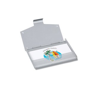 Mesh Metal Business Card Case Image 1 of 1