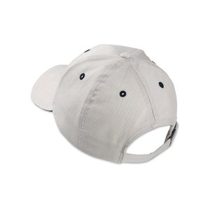 Brushed Cotton Twill Sandwich Cap - Embroidered Image 1 of 1