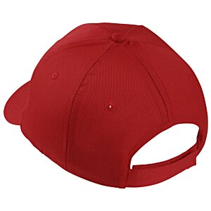 Polyester 6-Panel Cap - Embroidered Image 1 of 2
