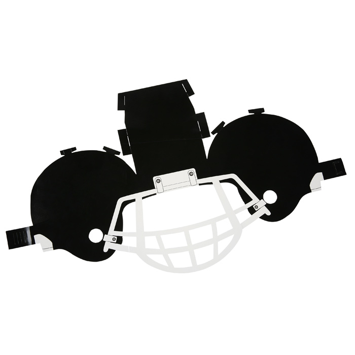 4imprint Paper Football Helmet 113610