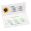 Matchbook Seed Packet - Sunflower Image 1 of 1