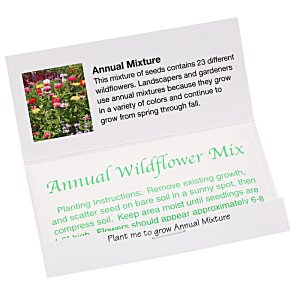 Matchbook Seed Packet - Annual Mix Image 1 of 1