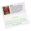 Matchbook Seed Packet - Zinnia Image 1 of 1
