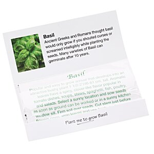 Matchbook Seed Packet - Basil Image 1 of 1