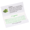 Matchbook Seed Packet - Oregano