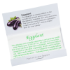 View Extra Image 1 of 1 of Matchbook Seed Packet - Eggplant