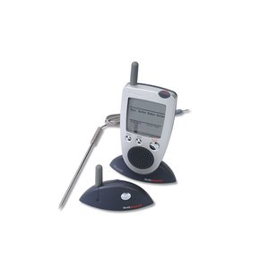 Brookstone Grill Alert Talking Remote Meat Thermometer Image 1 of 4
