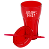 Fountain Soda Tumbler with Straw - 16 oz. Image 1 of 1