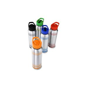 Ring Around Aluminum Sport Bottle - 28 oz.