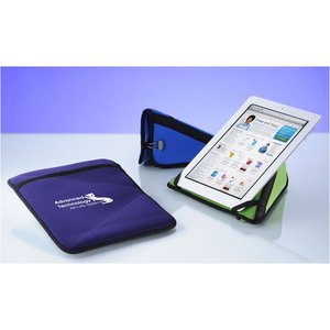 Neoprene Tablet Sleeve and Stand - Closeout Image 3 of 3