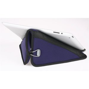 Neoprene Tablet Sleeve and Stand - Closeout Image 1 of 3
