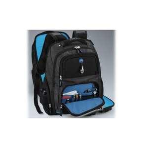 Zoom Checkpoint-Friendly Laptop Backpack - Emb Image 4 of 5