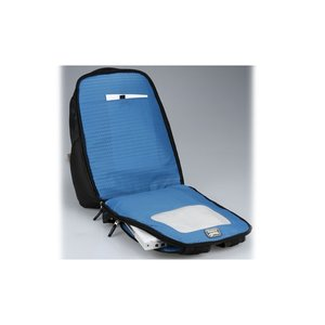 Zoom Checkpoint-Friendly Laptop Backpack - Emb Image 2 of 5