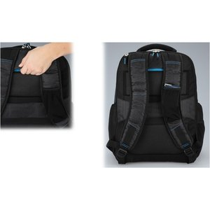 Zoom Checkpoint-Friendly Laptop Backpack - Emb Image 5 of 5
