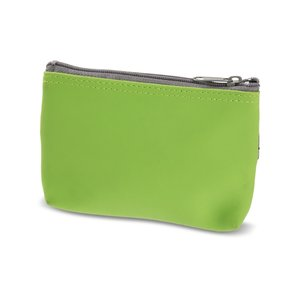 Zippered Cosmetic Pouch with Mirror