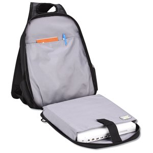 Summit Checkpoint-Friendly Laptop Sling - Emb Image 1 of 3
