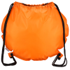 View Extra Image 2 of 2 of Game Time! Basketball Drawstring Backpack