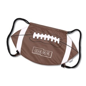 Game Time! Football Drawstring Backpack-Overstock Image 1 of 2