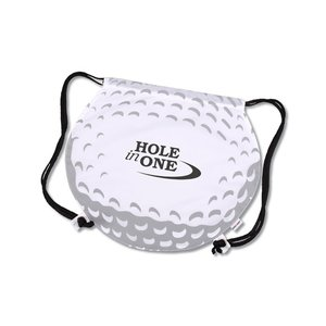 Game Time! Golf Ball Drawstring Backpack-Overstock Image 1 of 2