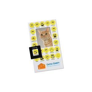 Bic Mood Frame Magnet - Smiley Faces Image 1 of 1