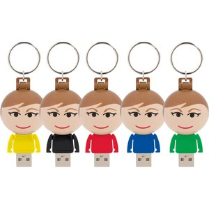 Ball USB People - 2GB - Female Image 1 of 2