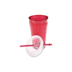 Cool Gear Chiller Tumbler w/Straw - 20 oz. - 24 hr Image 1 of 2