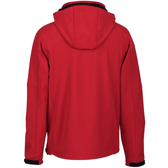 3e17d3612c1 4imprint.com  Tulsa Hooded Bonded Soft Shell Jacket - Men s 114036-M