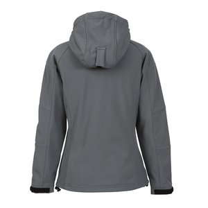 Tulsa Hooded Bonded Soft Shell Jacket - Ladies' Image 1 of 1