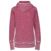 View Extra Image 1 of 1 of J. America Zen Full-Zip Hooded Sweatshirt - Ladies' - Screen