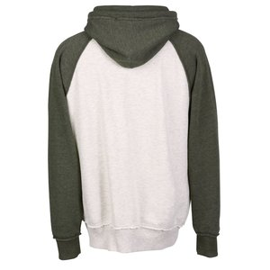 J. America Vintage Heather Hooded Sweatshirt - Screen
